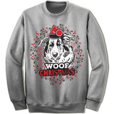 Collie Ugly Christmas Sweater.