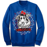Collie Ugly Christmas Sweatshirt