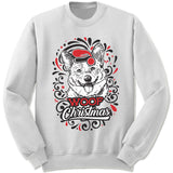 Corgi Ugly Christmas Sweatshirt