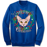 Cornish Rex Ugly Christmas Sweater