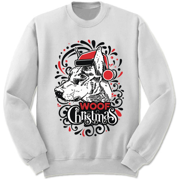 Doberman Pinscher Ugly Christmas Sweater Merry Christmas Sweaters