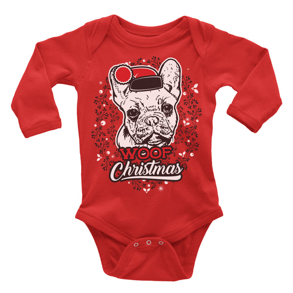 French Bulldog Ugly Christmas Onesie.