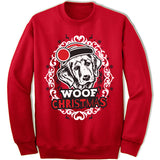 Golden Retriever Ugly Christmas Sweater.