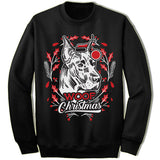 Great Dane Ugly Christmas Sweatshirt