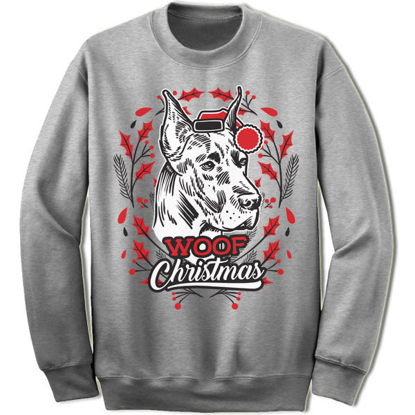 Great Dane Ugly Christmas Sweater. – Merry Christmas Sweaters