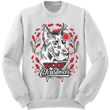 Great Dane Ugly Christmas Sweater.