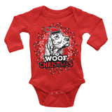 Irish Setter Ugly Christmas Onesie.