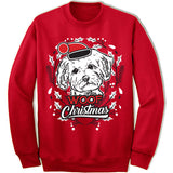 Maltese Ugly Christmas Sweater