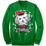 Maltese Ugly Christmas Sweatshirt