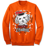 Maltese Ugly Christmas Sweater.