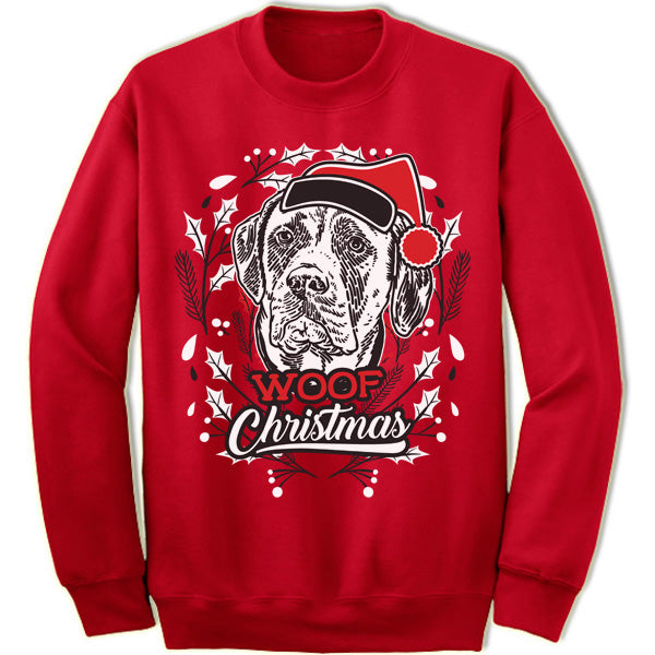 Mastiff Ugly Christmas Sweater