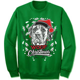 Mastiff Ugly Christmas Sweatshirt