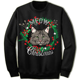 Maine Coon Cat Ugly Christmas Sweatshirt