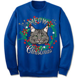 Maine Coon Cat Ugly Christmas Sweater.