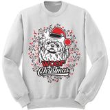 Pekingese Ugly Christmas Sweater.