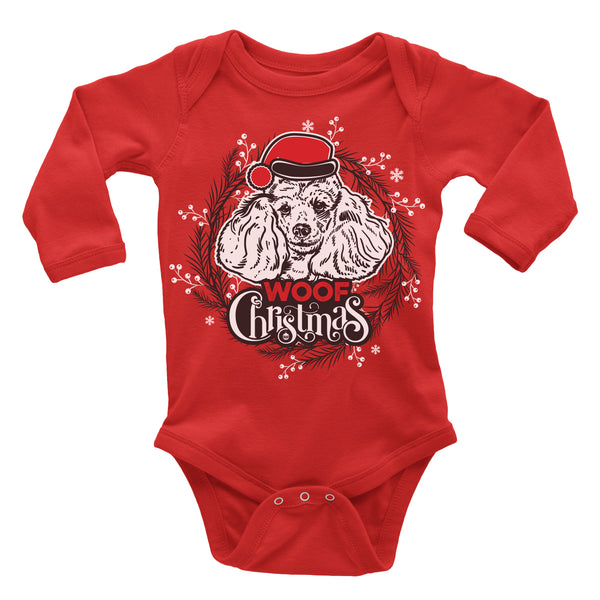 Poodle Ugly Christmas Onesie.