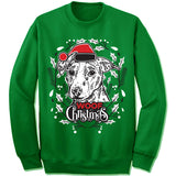 Russel Terrier Ugly Christmas Sweatshirt