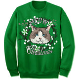 Ragdoll Cat Ugly Christmas Sweater.