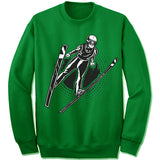 Ski Jumping Winter Olympics Sweatshirt