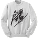 Ski Jumping Winter Olympics Sweatshirt.