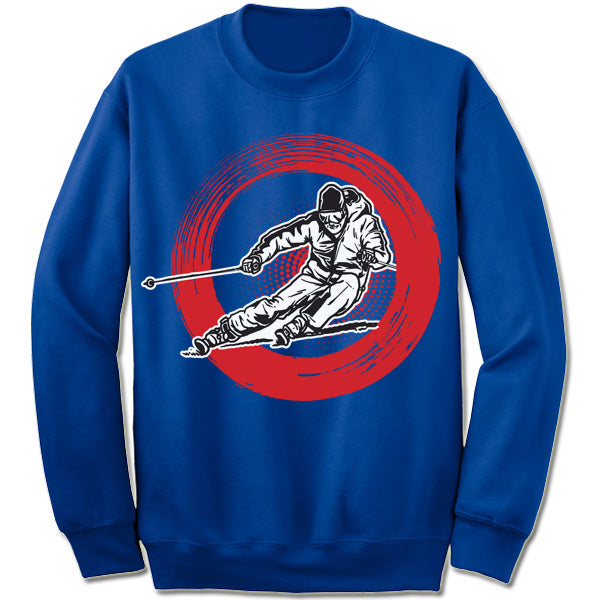 Skiing Winter Olympics Sweatshirt