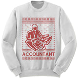 Accountant Ugly Christmas Sweater.