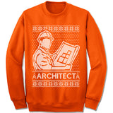 Architect Ugly Christmas Sweater.