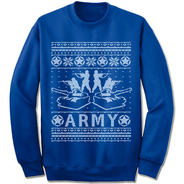 Army Christmas Sweater