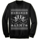 Army Ugly Christmas Sweater.