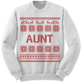 Aunt Ugly Christmas Sweater.