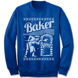 Baker Ugly Christmas Sweater.