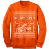 Bookkeeper Ugly Christmas Sweater.