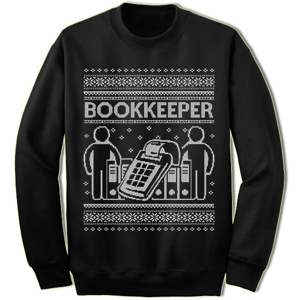 Bookkeeper sweater