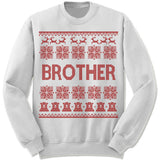Brother Ugly Christmas Sweater.