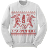 Carpenter Ugly Christmas Sweater.