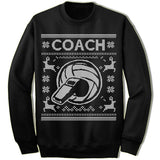 Coach Ugly Christmas Sweater.
