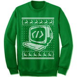 Coder Ugly Christmas Sweater.