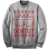 Dentist Ugly Christmas Sweater.