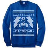 Electrician Ugly Christmas Sweater.