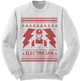 Electrician Ugly Christmas Sweater