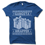 Gangsta Wrapper Ugly Christmas T-Shirt.