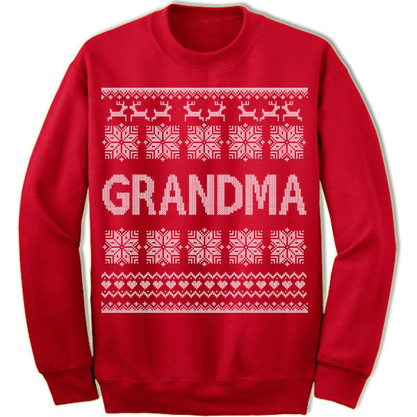 Grandma Ugly Christmas Sweater.