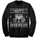 Happy Hanukkah Ugly Christmas Sweater.