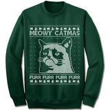 Meowy Catmas Ugly Christmas Sweater.