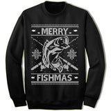 Merry Fishmas Ugly Christmas Sweater.