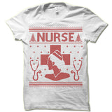 Nurse Ugly Christmas T-Shirt.