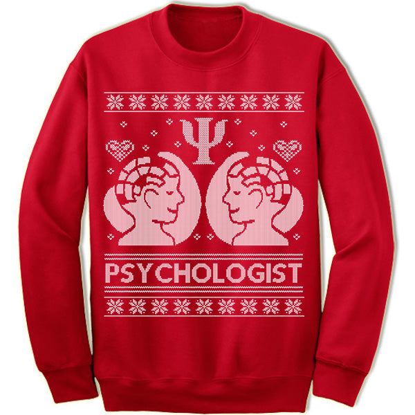 Psychologist Christmas Sweater