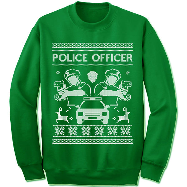 Police Officer Christmas Sweater