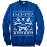 Police Officer Christmas Sweatshirt