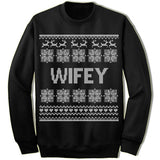 Wifey Ugly Christmas Sweater.